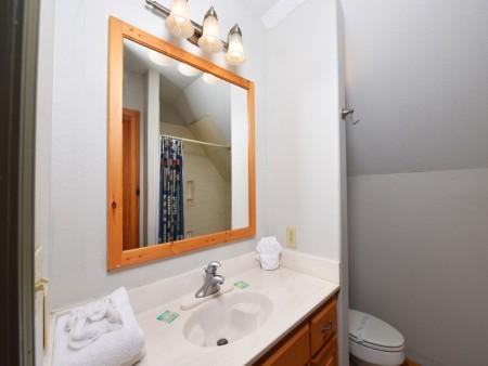 Pigeon Forge Cabin - River Retreat - Bathroom