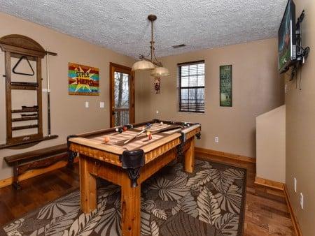 Pigeon Forge - Smoky View On the Rocks - Gameroom Billiards