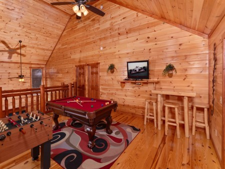 Pigeon Forge Cabin- Jennie's Cove - Game Room