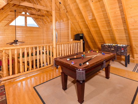 Pigeon Forge Cabin- Oh Yea – Pool Table
