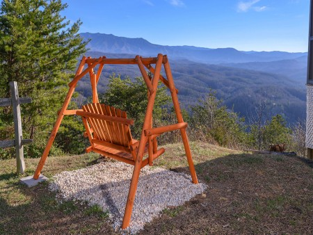 Pigeon Forge Cabin- Over The Top – Swing/View