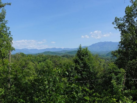 Pigeon Forge Cabin - Serenity - View