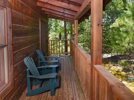 Pigeon Forge - A Smoky Mountain Rose - Deck