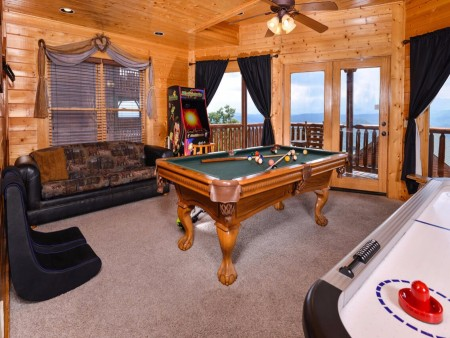 Pigeon Forge - The View - Recreation Room