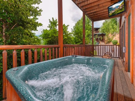 Unforgettable Views and A Theater Hot Tub