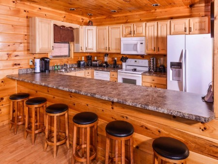 Wild Turkey Lodge Kitchen