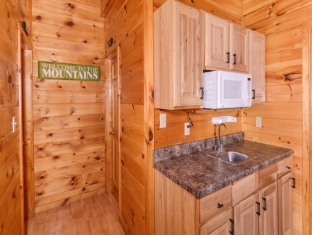 Wild Turkey Lodge Kitchenette