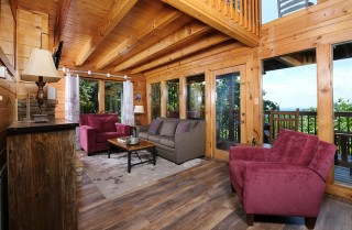 Pigeon Forge - High Serenity - Living Room