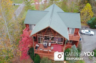 Gatlinburg Cabins - Rainbows End Lodge - Exterior