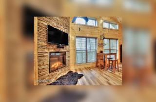 gatlinburg - creekside memories - living room