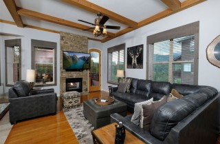 Gatlinburg - Greystone Pinnacle - Living Room