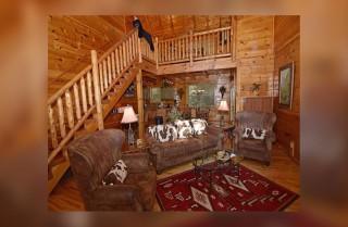 gatlinburg - hemlock ridge - living room