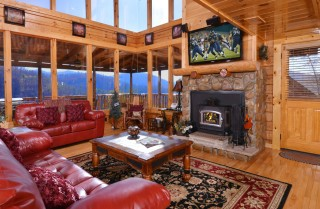 Sevierville - Like A Comet - Living Room