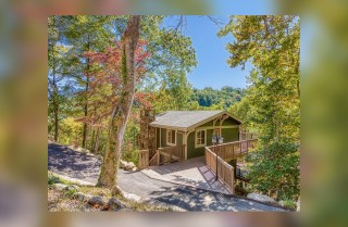 Gatlinburg Cabins - Points of View - Exterior