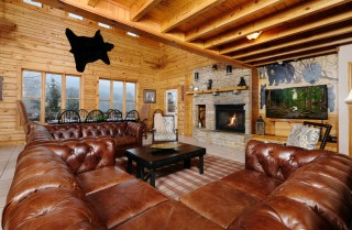 Gatlinburg  - Pop A Bear - Living Room