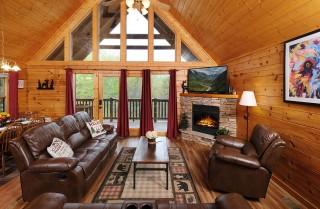 Gatlinburg  - Siesta Ridge - Living Room