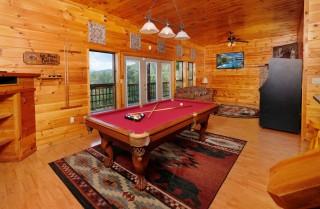Gatlinburg - Wild Turkey Lodge - Rec Room