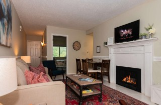 Gatlinburg  - Chateau 105 - Living Room