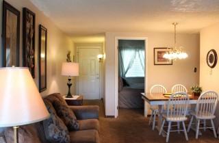 Gatlinburg  - Chateau 503 - Living Room