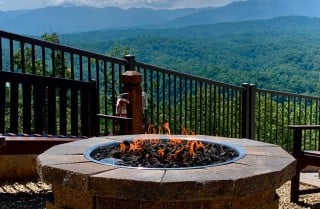 Pigeon Forge - A Beautiful VIew - Fire Pit
