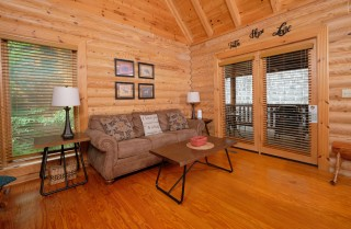 Pigeon Forge Cabin - A Time to Remember - Living Room