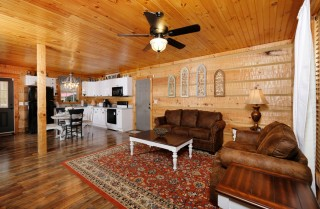 Pigeon Forge - Autumn Woods Retreat - Living Room