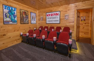 Pigeon Forge - Be Our Guest - Theater Room