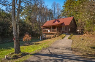 Pigeon Forge - Bear Crossing - Exterior & Driveway