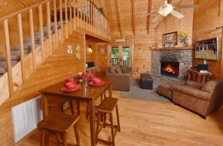 Pigeon Forge - Big Chill - Living Room