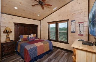 bed in a wall design woodland bedroom decor forest themed.htm large group pigeon forge cabins     big forest retreat  big forest retreat