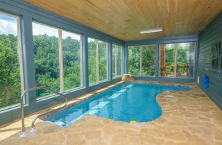 Pigeon Forge Cabin - Big Forest Retreat - Indoor Pool