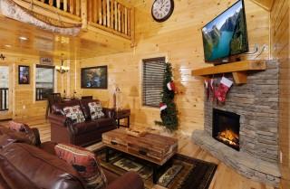 Pigeon Forge - Canoe Creek - Living Room