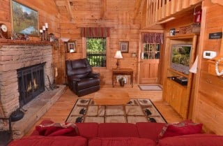 office cubicle gets trnsformed into cozy christms cbin.htm pigeon forge cabin endless love  pigeon forge cabin endless love