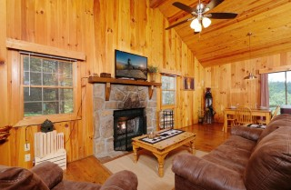 Pigeon Forge - Heart's Desire - Living Room