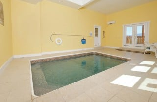 pigeon forge cabin – highland plunge – pool
