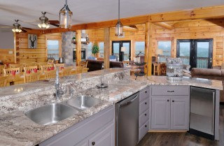 white ice granite countertops for a fantastic kitchen decor.htm pigeon forge cabins plimpton lodge  pigeon forge cabins plimpton lodge
