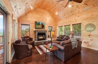 Pigeon Forge - Sleepy Bear - Living Room