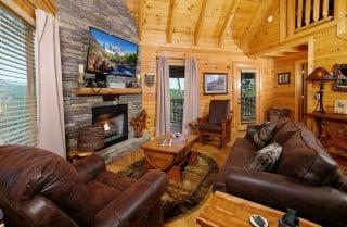 Pigeon Forge - Still Life - Living Room