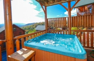 Pigeon Forge - The View -  Exterior Fall