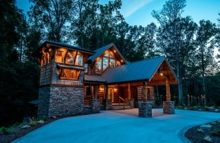 Pigeon Forge - Treehouse River Lodge - Exterior