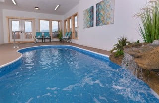 Pigeon Forge Cabin- Paradise Peak – Private Indoor Pool