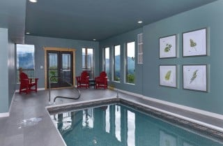Pigeon Forge Cabin- Point of Grace – Private Indoor Pool