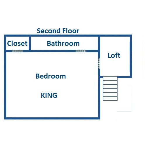 Aaron's Lodge - Second Floor