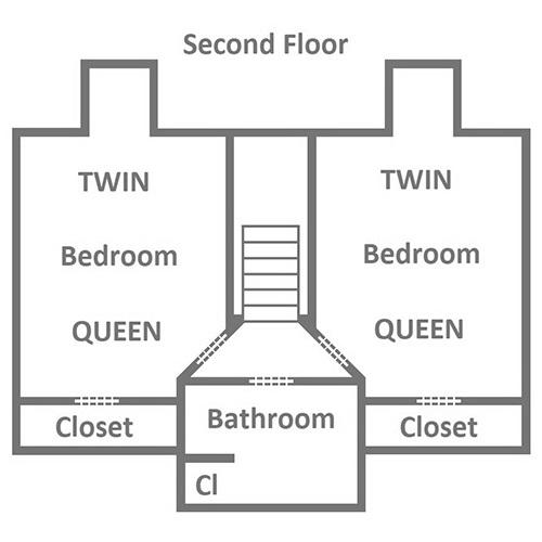 Around the Bend - Second Floor