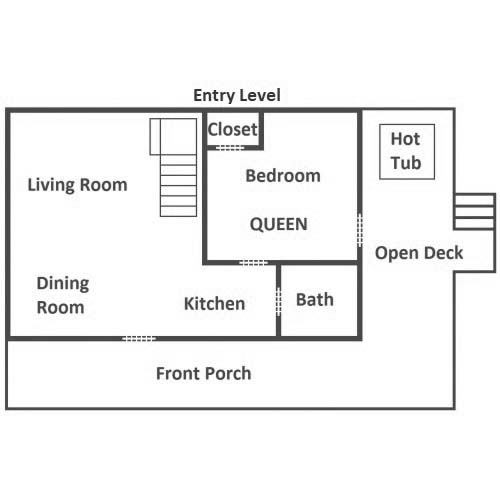 Auntie Sue's Cabin - Entry Level