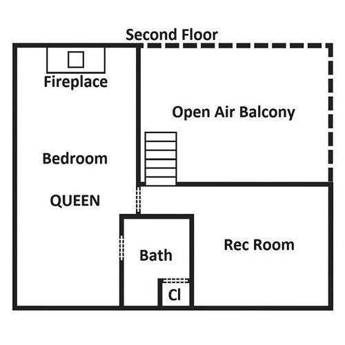 Bear Footin - Second Floor