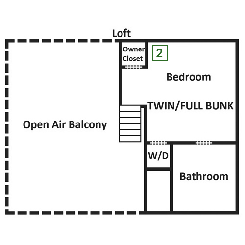 Bear Hiney Hideaway - Loft