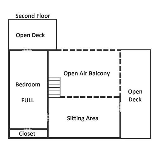 Bear Hollow - Second Floor
