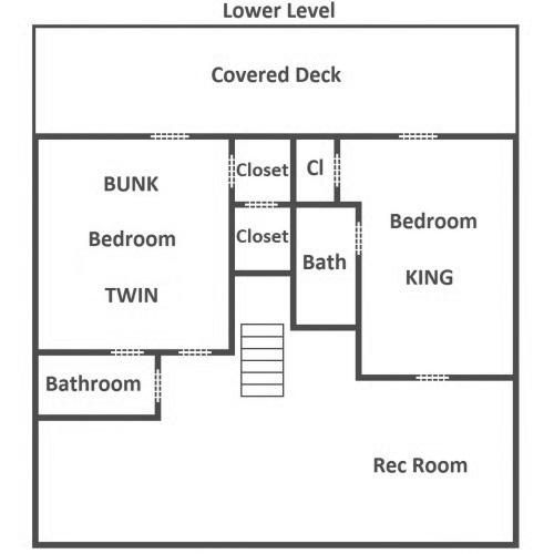 Bear Tracks - Lower Level