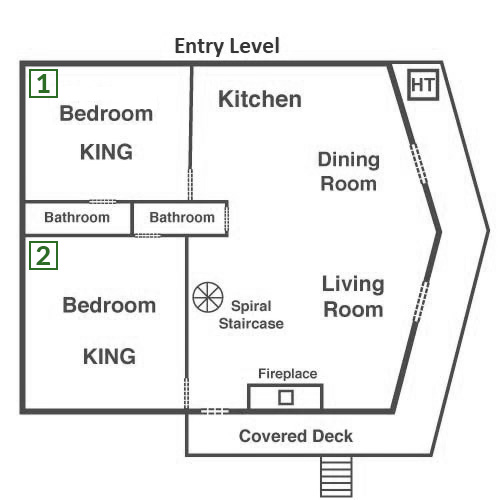 Bearfoot Lodge - Entry Level